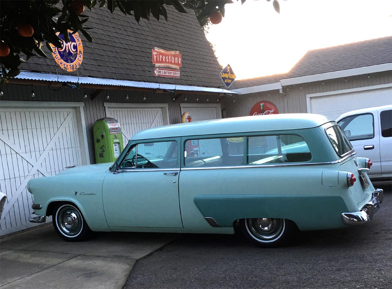 1954 Ford Wagon new tires.jpg