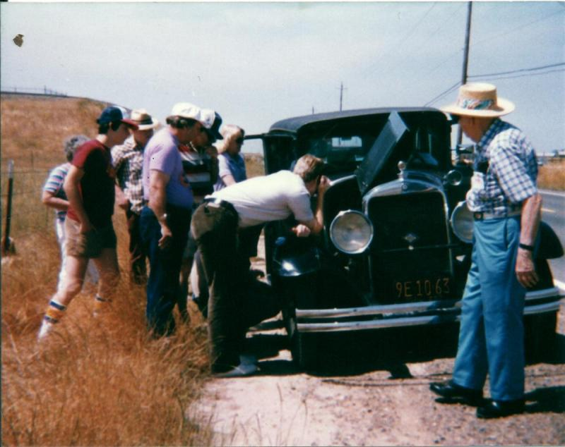 Break down on Twin Cities Road in 1929 Studebaker Commander.jpg
