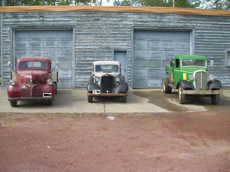 1946 Dodge, 1935 Dodge Brothers, 1935 Chevrolet-1.jpg