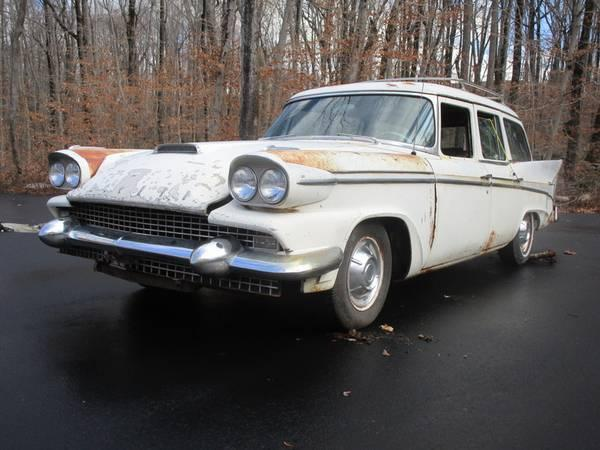 1958 Packard wagon in CT Craigslist - Cars For Sale ...