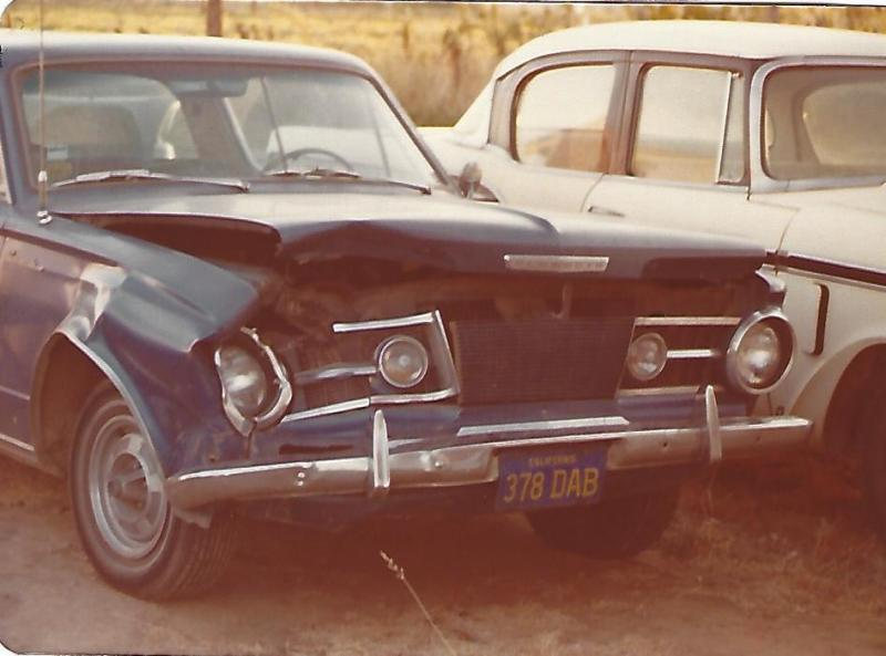 1964 Plymouth Barracuda front wrecked.jpg