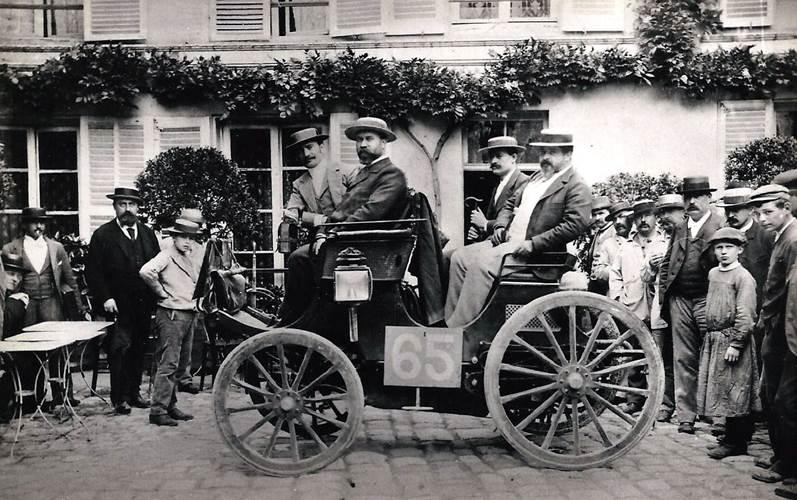 1894 Paris to Ruoen Albert Lemaitre, 3hp Peugeot.jpg