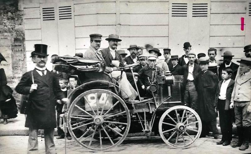 From the Paris to Rueon race 1894, this Panhard et Levassor was the first auto with a steerig wheel.jpg