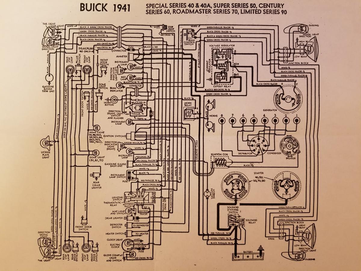 1940 Buick Wiring Diagram Ford F 350 Radio Wiring Schematic For Wiring Diagram Schematics