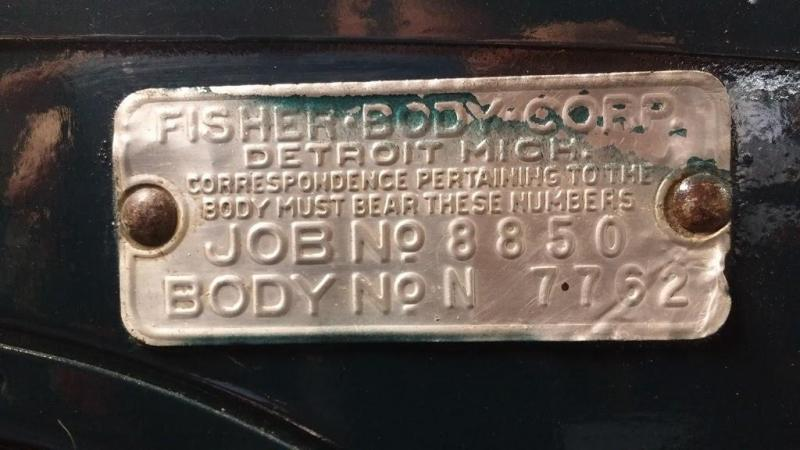1929 Chevrolet Fisher Body Tag.jpg
