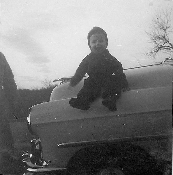 54 April on Grandpa C's 53 Chevy.jpg