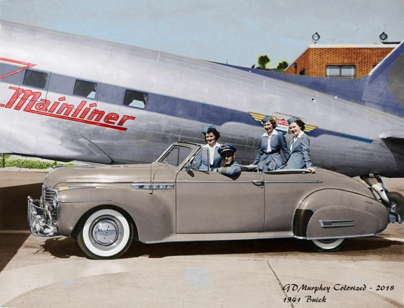 1941 Buick United Airlines Colorised.jpg