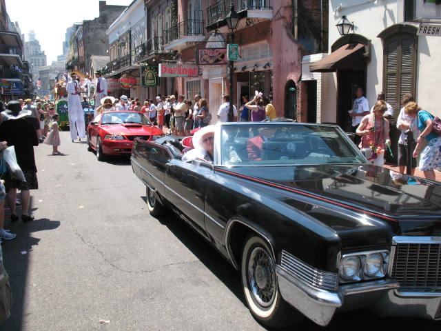 New Orleans Easter Parade 2012 - 1970 Cadillac 004.jpg