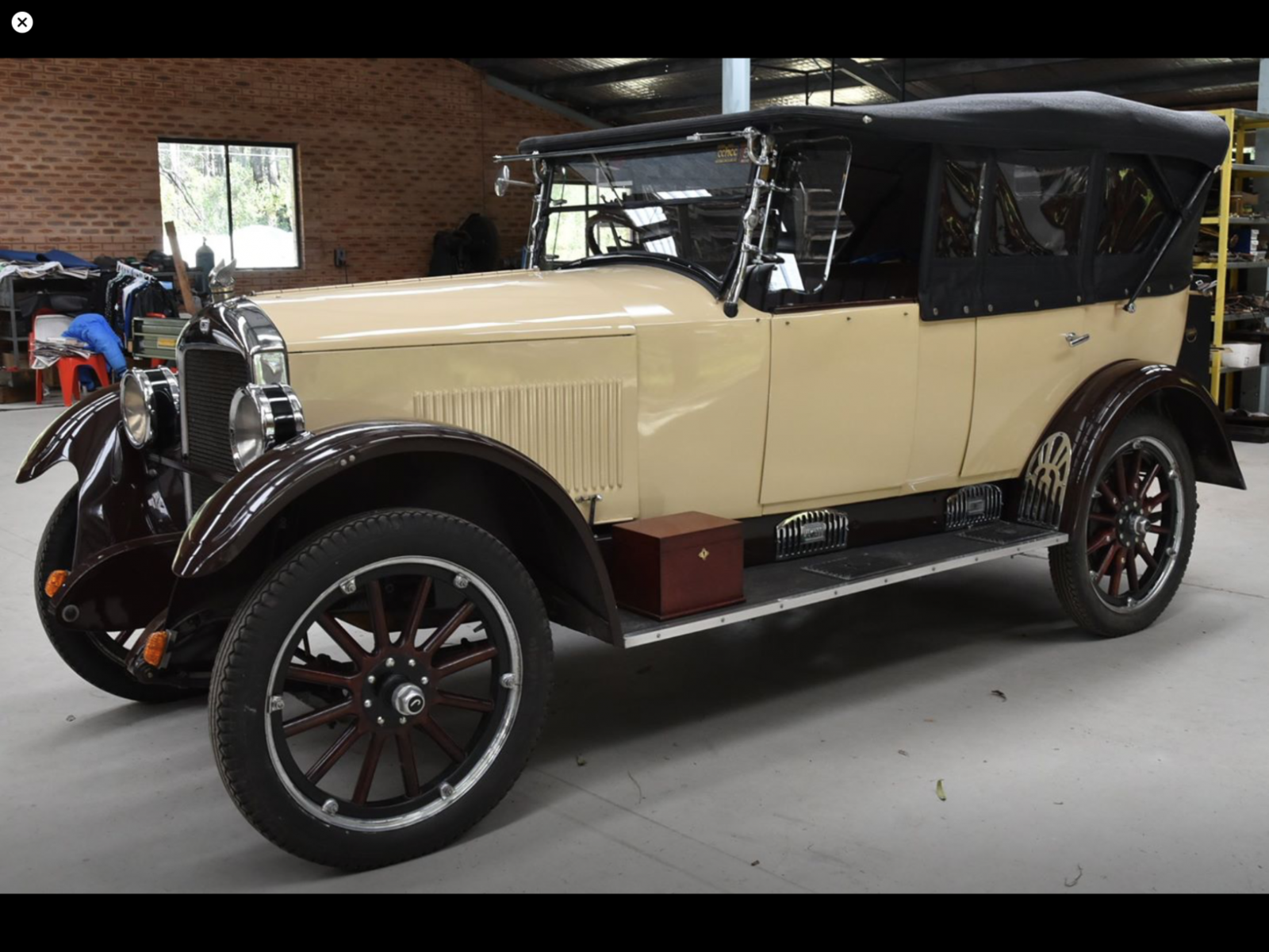 Jewett Tourer 23 - Detroit to Australia 100 years later