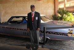 Staff Sgt. Buford Johnson, Crew Chief 332nd Fighter Group, World War II, at the Tuskegee Airmen Top Guns 60th anniversary Celebration in 2009, Las Vegas