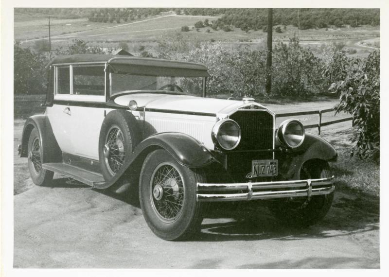 1929 Stearns-Knight J-8-90 Convertible Victoria Photo taken in 1956-1.jpg