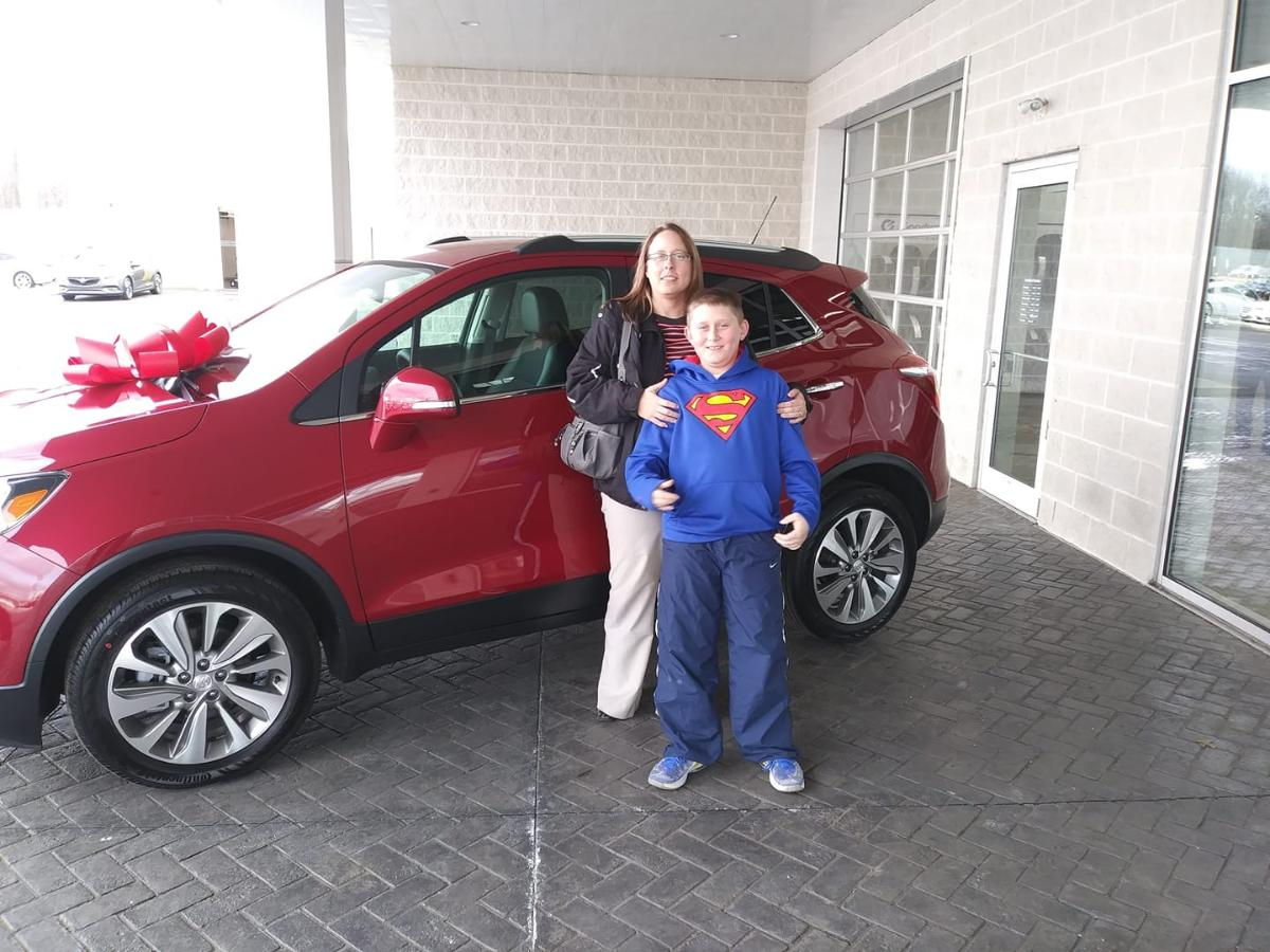 Sue and her new Encore 2018.jpg