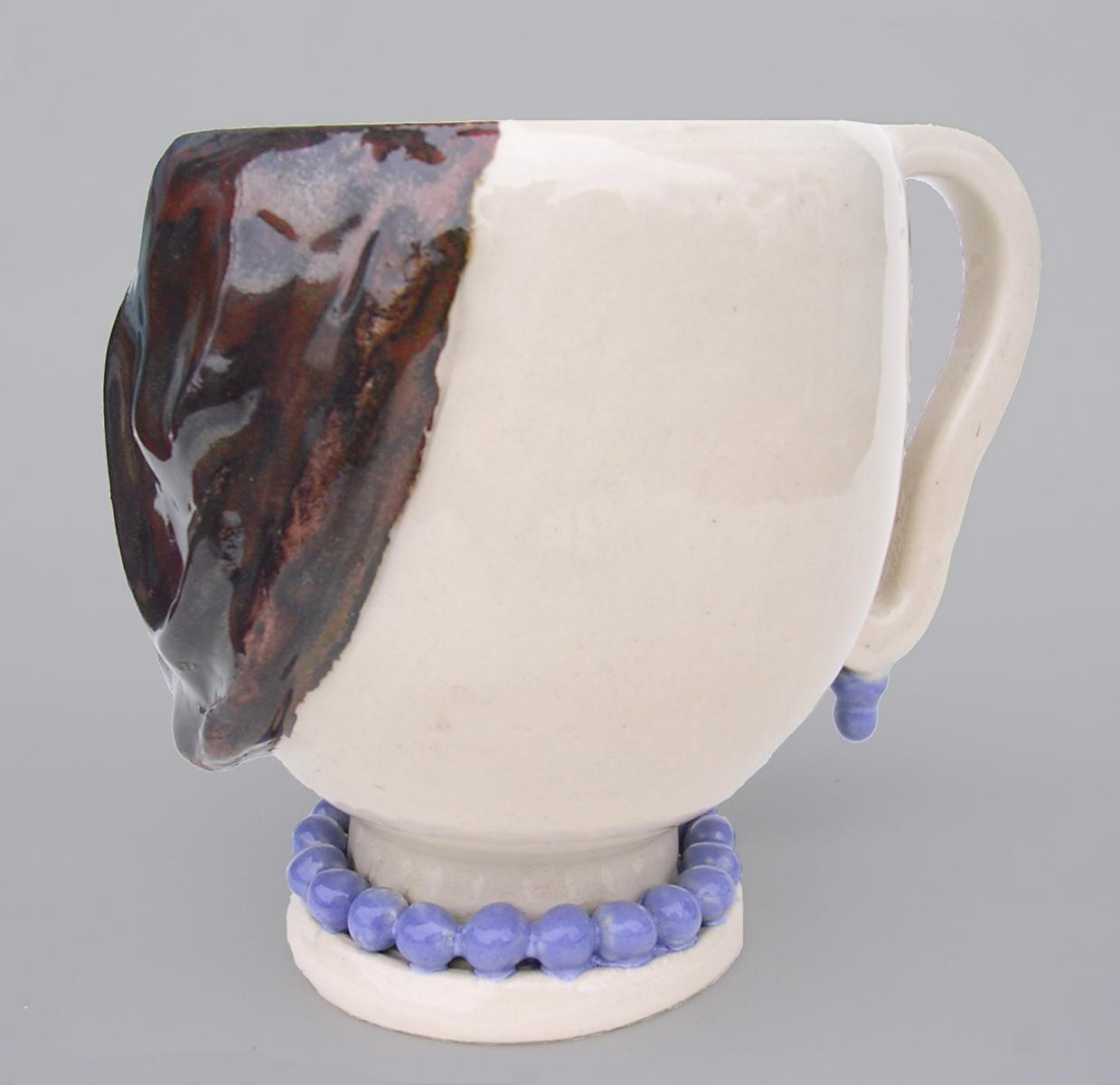 Woman coffee cup