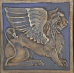 Gryphon Tile (a matched pair)