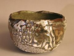 "American Shino Glazed Chawan  -John Baymore   ""Tea Bowl National 2010"""