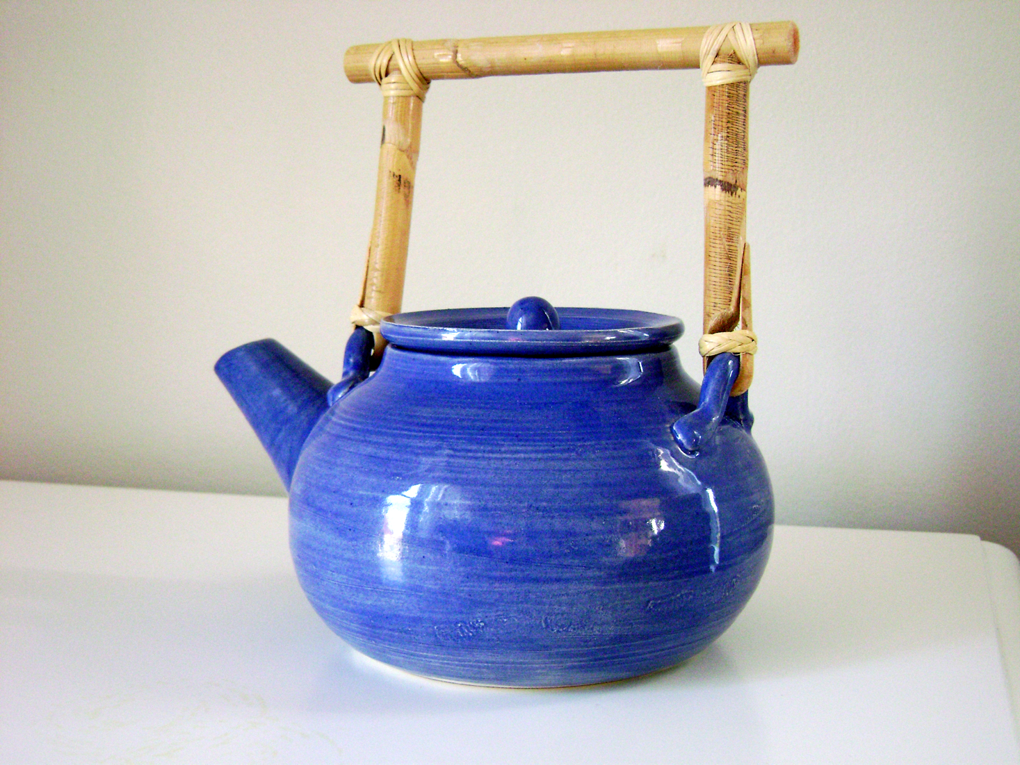 My first teapot.