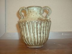 Urn with Eggshell Glaze