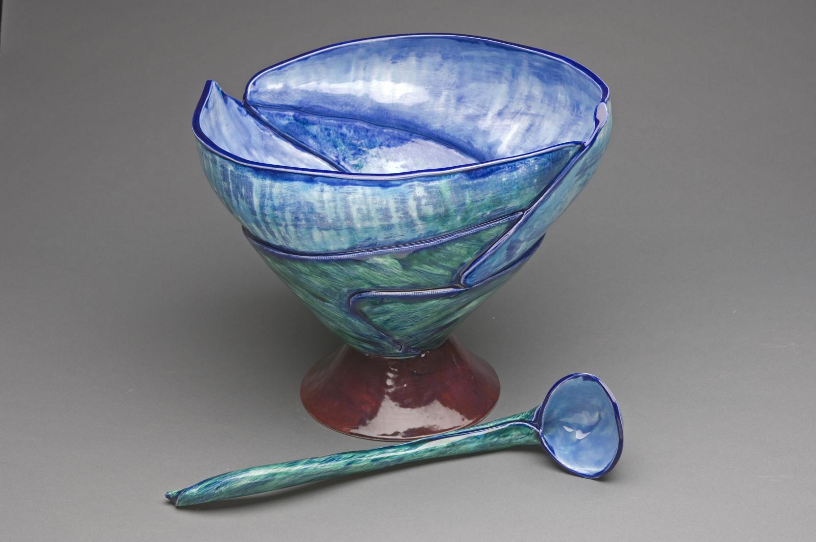 Punchbowl with Ladle