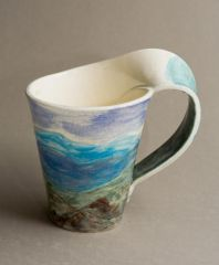 Right handed Landscape Mug
