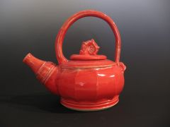Teapot in Red