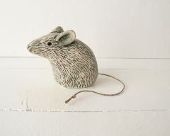 Mouse with String Tail