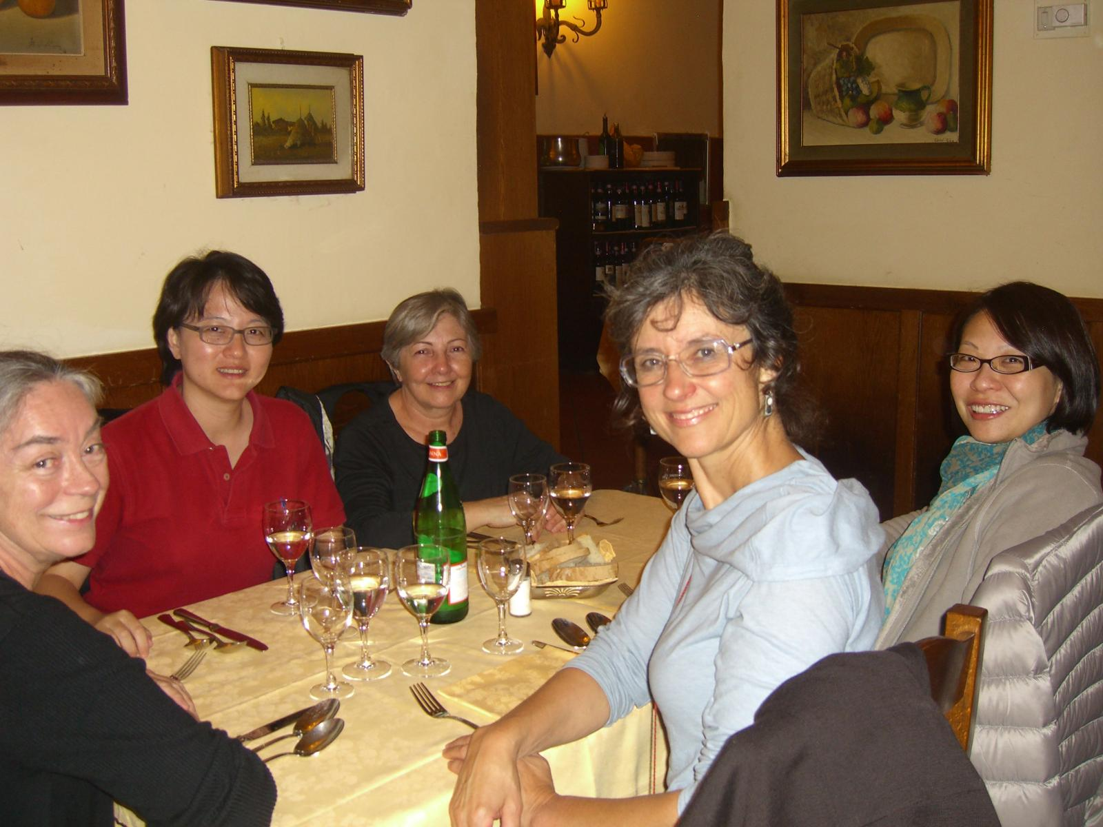 Day 1 - Florence, Italy -  Dinner at Mamma Gina's