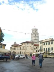Day 3 - Pisa, Italy - First view of tower of Pisa