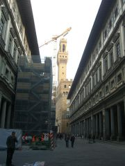 Day 2 - Florence, Italy - On our way to Bargello Museum - Tower