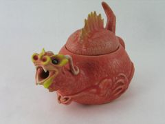 Red Dragon Teapot