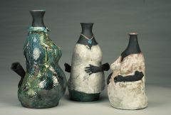 Ladies In Waiting - Raku