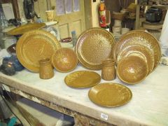 one iteration of 10 pc. dinnerware set