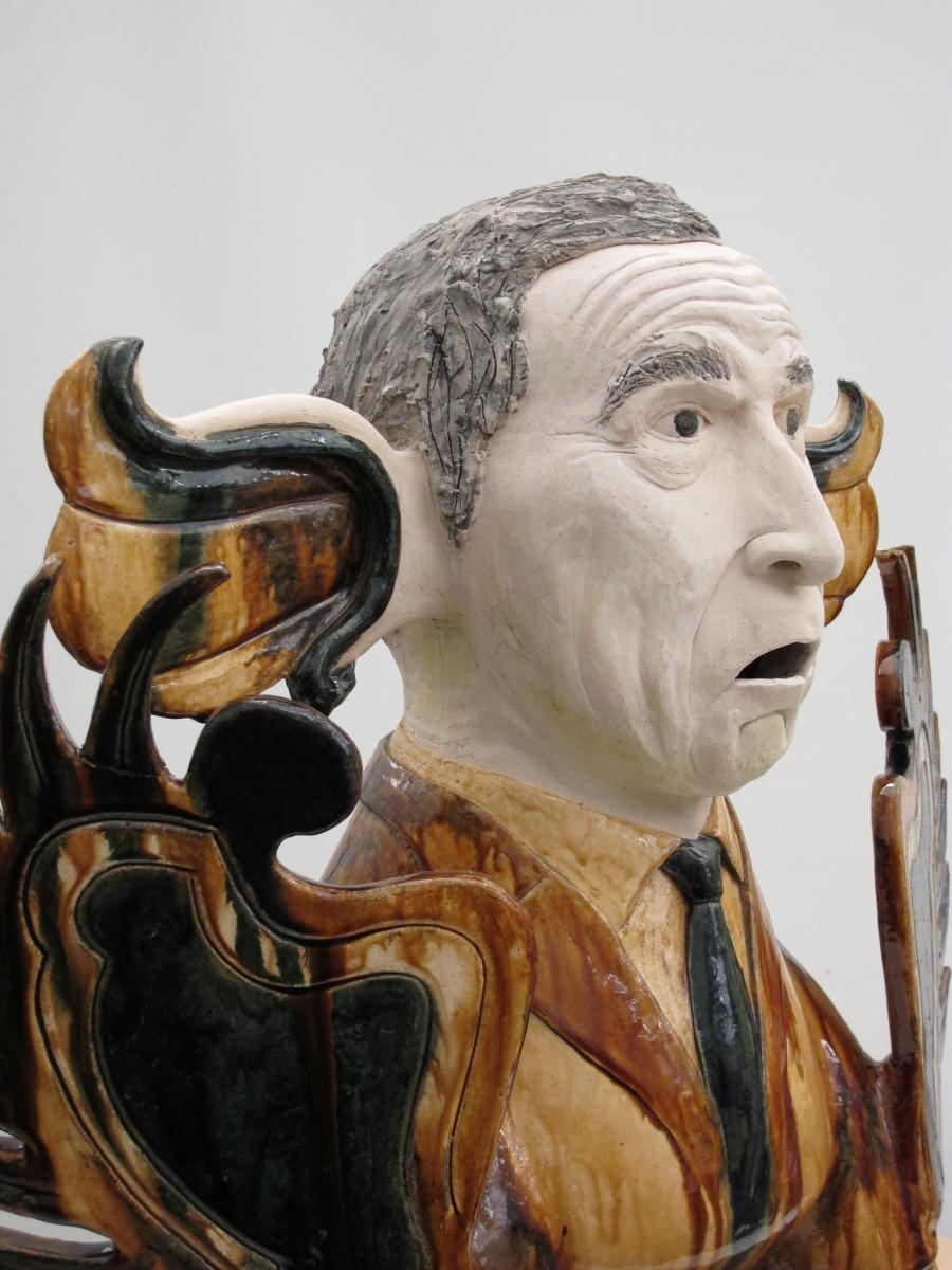 George- My 1st attempt at figurative sculpture