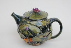 My 1st atempt at a double walled teapot