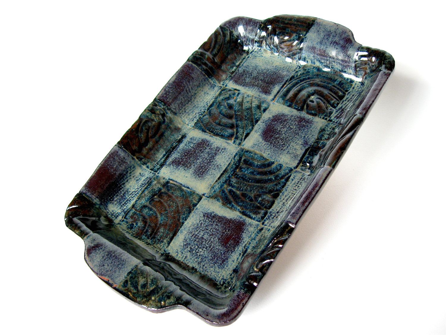 Twilight Serving Tray, 12 x 7.5 inches