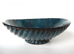 Turquoise Modern Rice Bowl, 6.75 x 2.2 inches