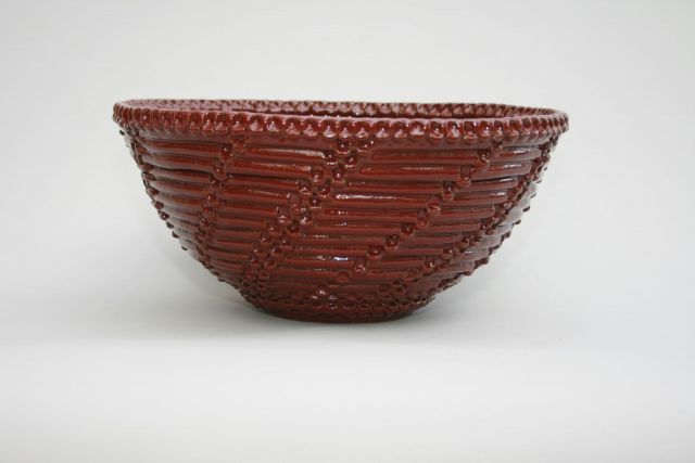 Red Vessel Sink