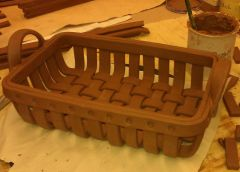 rectangle woven basket