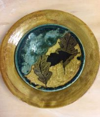 Serving Platter and Shallow bowl