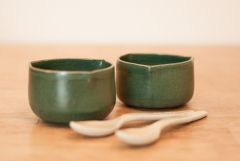Triangular bowls