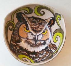 Great Horned Owl Bowl