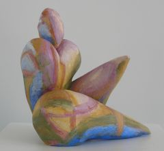 Sculpture with color
