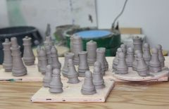 Unfinished Chess Set #3