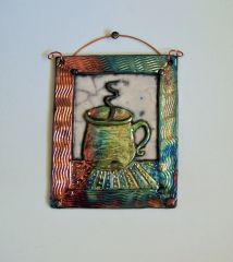 coffee cup tile