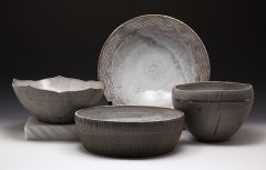 Four Medium Serving Bowls