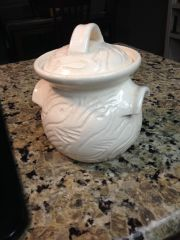 Lidded Salt Jar