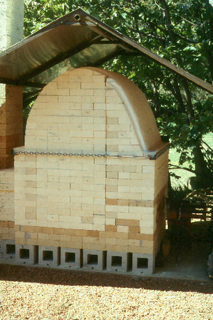 Crossdraft Propane Fired Gas Kiln
