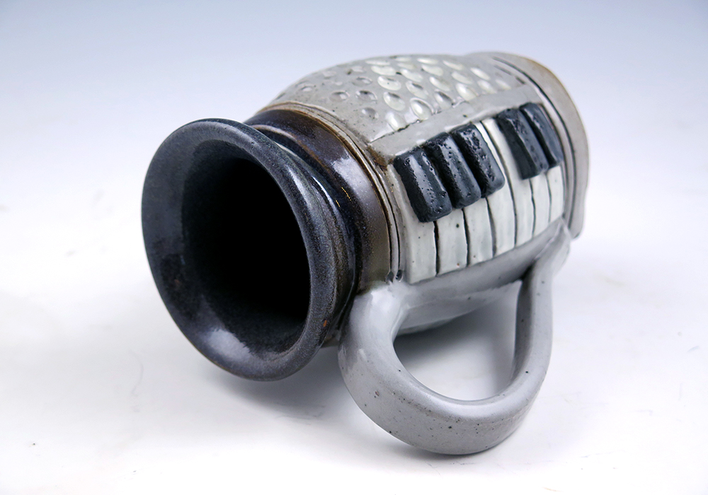 Piano Mug - 12oz. - Side View
