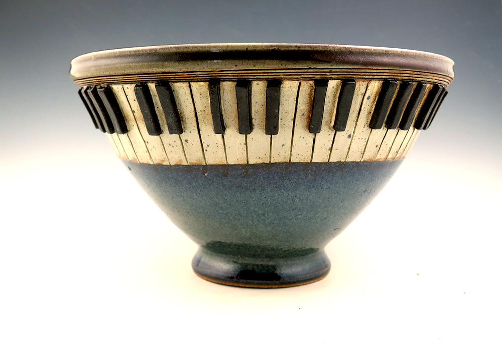 Commissioned 'Piano' Bowl