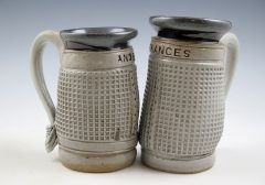 Tennis Net Mugs - Name Imprinted