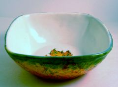 Falling Brightly Serving Bowl